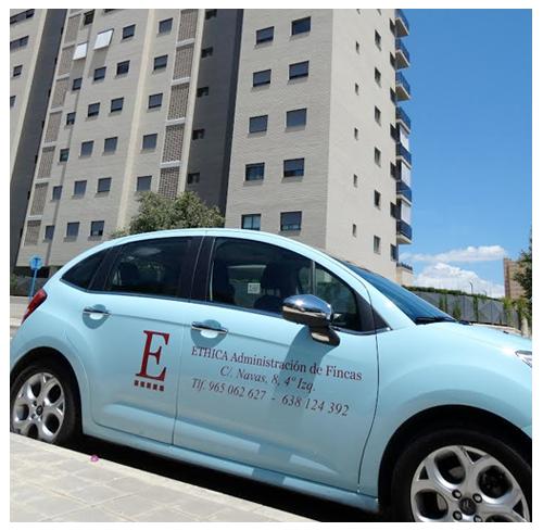 Vehículo Ethica Administración de Fincas Alicante