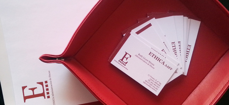 Tarjetas de Visita de Ethica
