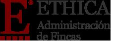 Logotipo Ethica Administración de Fincas en Alicante